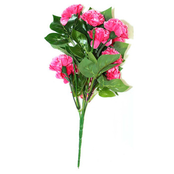"12"" Magenta Short Bunch Flower"