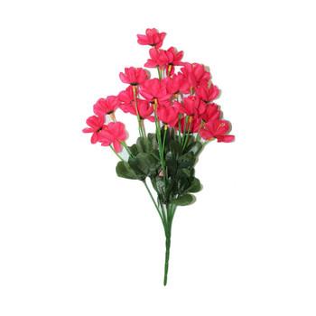 "12"" Pink Short Bunch Flower"
