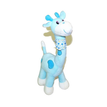 "15"" Blue Cute Giraffe"