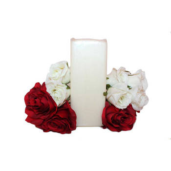 "2.75"" X 7"" Ivory Square Pillar Candle"