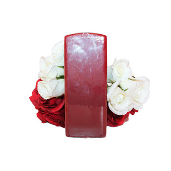 "2.75"" X 7"" Pomegranate Square Pillar Candle"