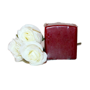 "2.75"" X 3"" Pomegranate Square Pillar Candle"