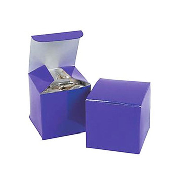 "2"" Purple Gift Boxes"