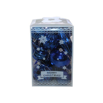 Blue Christmas Ornaments - Shatterproof