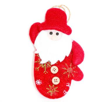 Hanging Santa Claus Christmas Ornament