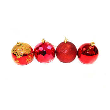 Red Christmas Ornaments - Shatterproof