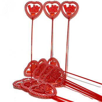 "12.5"" Love Heart Arrangement Pick - 12 Pieces"