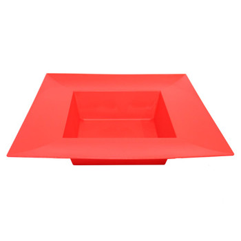"10"" Red Square Designer Tray"
