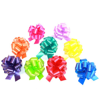 #9 Assorted Colors Pull Bow Ribbon