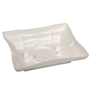 "8"" White Centerpiece Tray"