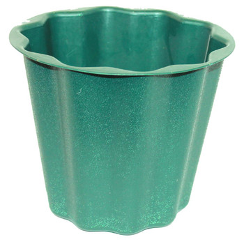 "8"" Green Flower Pot Container"