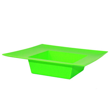 "10"" Apple Green Square Designer Tray"