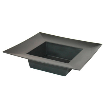 "10"" Black Square Designer Tray"