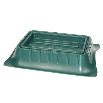 "9.5"" x 5"" Single Block Saddle Tray"