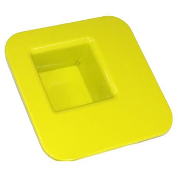 "9"" Kiwi Square Tray"