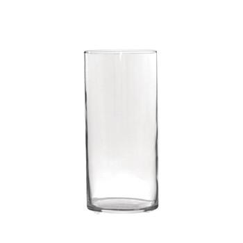 """7.75""""H Glass Cylinder Vase"""