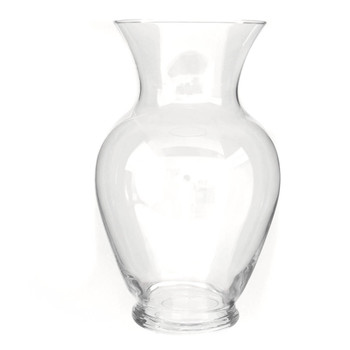 "11""H Clear Spring Garden Glass Vase"