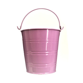 4'' Purple Metal Bucket