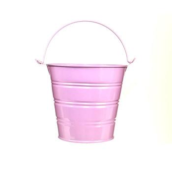 5'' Purple Metal Bucket