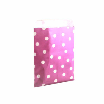 "7""H Purple Paper Heat Bag 12 pieces"