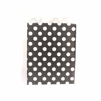 "7""H Black Paper Heat Bags 12 pieces"