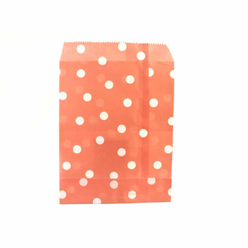 "7""H Peach Paper Heat Bags 12 pieces"