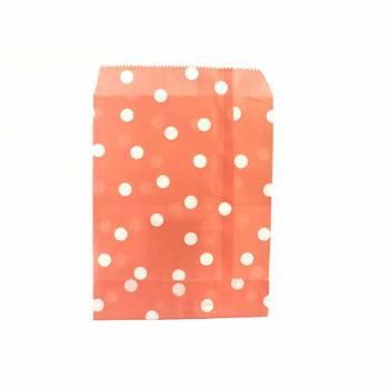 "7""H Peach Paper Heat Bags 12 pieces"