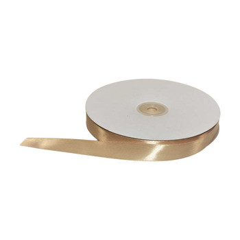 5/8'' Gold Single Face Satin Ribbon
