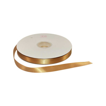 5/8'' Dijon Single Face Satin Ribbon