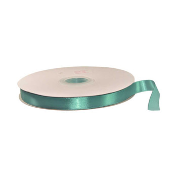 5/8'' Jade Single Face Satin Ribbon