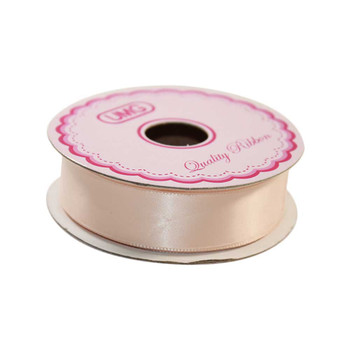 "3/4""  Nude Single Face Satin Ribbon"