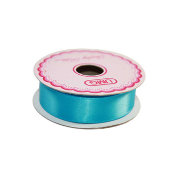 3/4'' Blue Single Face Satin Ribbon