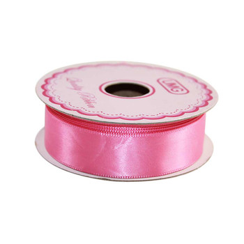 3/4'' Pink Single Face Satin Ribbon
