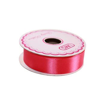 3/4'' Hot Pink Single Face Satin Ribbon
