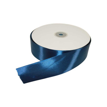 1.5'' Navy Blue Single Face Satin Ribbon