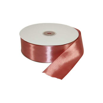 1.5'' Rose Gold Single Face Satin Ribbon