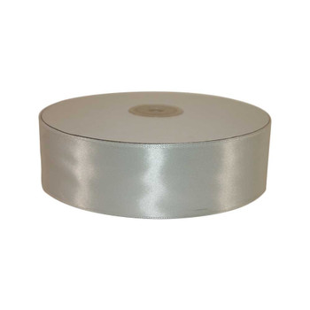 1.5'' White Single Face Satin Ribbon