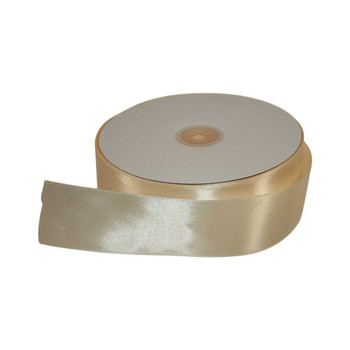 1.5'' Ivory Single Face Satin Ribbon