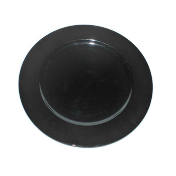 "13"" Black Charger Plate"