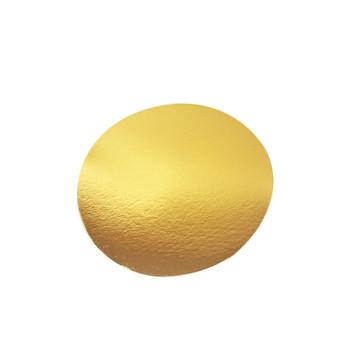 """14"""" Gold Circle Cake Pad"""