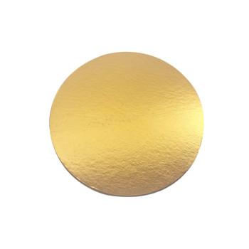 """12"""" Gold Circle Cake Pad"""