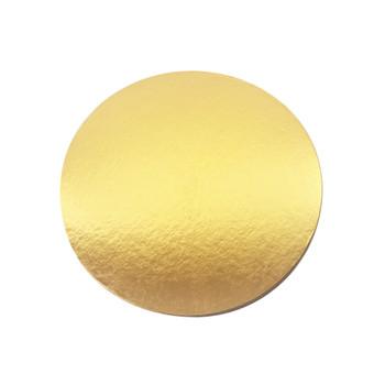 16'' Gold Circle Cake Pad