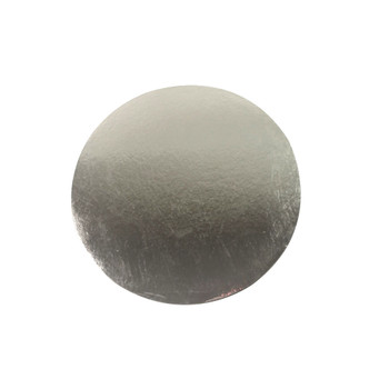 "10"" Silver Circle Cake Pad"