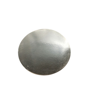 "12"" Silver Circle Cake Pad"