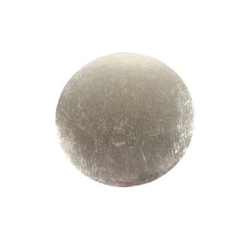 "14"" Silver Circle Cake Pad"
