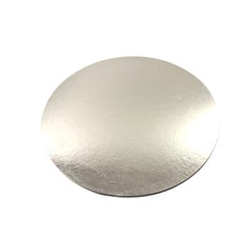 "16"" Silver Circle Cake Pad"