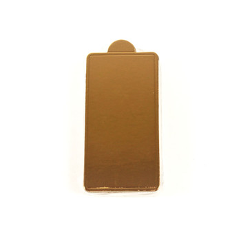 "4 1/4""  Gold Mini Dessert Pad"