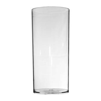 9.75''H Clear Acrylic Cylinder Vase