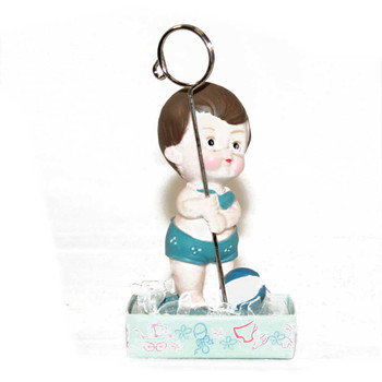 "4.5"" Blue Baby Boy Card Holder"