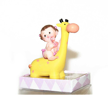 Yellow Giraffe  Baby Girl